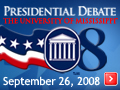 Presidential Debate Transcript, The University Of Mississippi. September 26, 2008