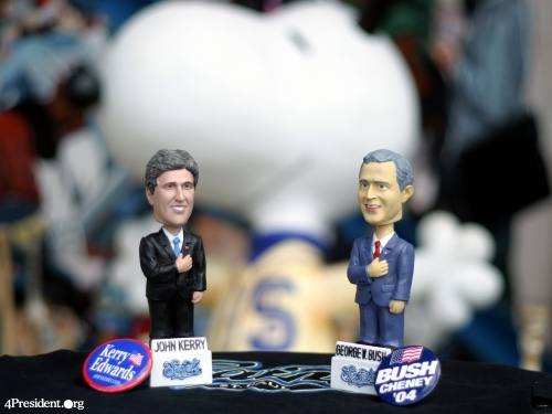 John Kerry and George W. Bush Bobblelection 2004